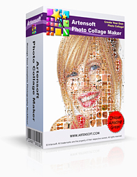 Photo mosaic maker Artensoft Photo Collage Maker
